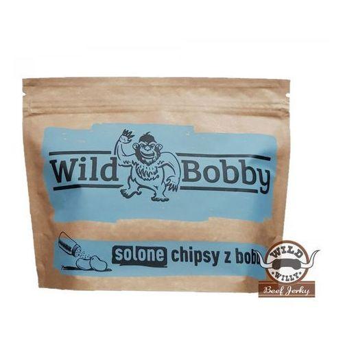 Chipsy z bobu wild bobby 100 g solone marki Wild willy