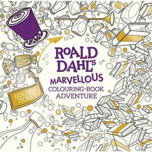 Roald Dahl: A Marvellous Colouring Book Adventure (9780141373546)