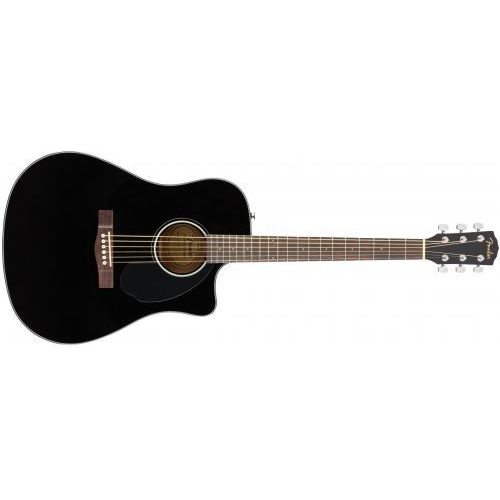 cd-60sce dreadnought black wn gitara elektroakustyczna marki Fender