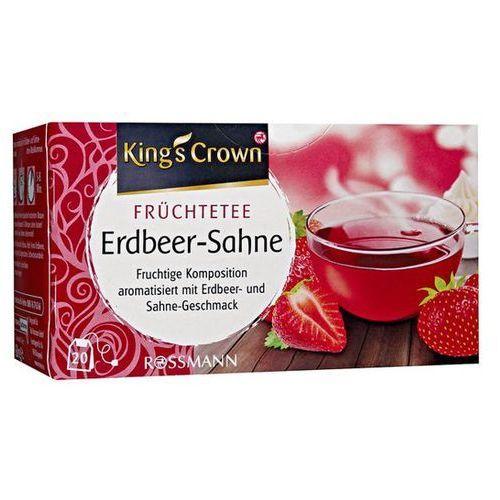 King's Crown Herbata Truskawkowo Śmietankowa - Truskawkowo Śmietankowa (4305615462578)