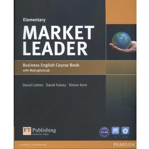 Market Leader Elementary. Podręcznik + DVD + MyEnglishLab, Pearson Education