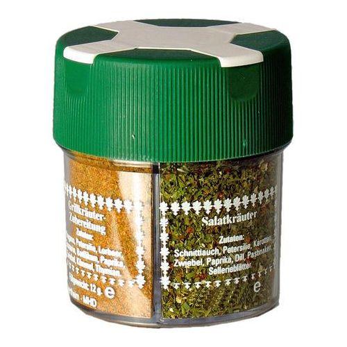 Relags Zestaw przypraw do grilla Żywność kempingowa 4 w 1 zielony/biały Suplementy fitness