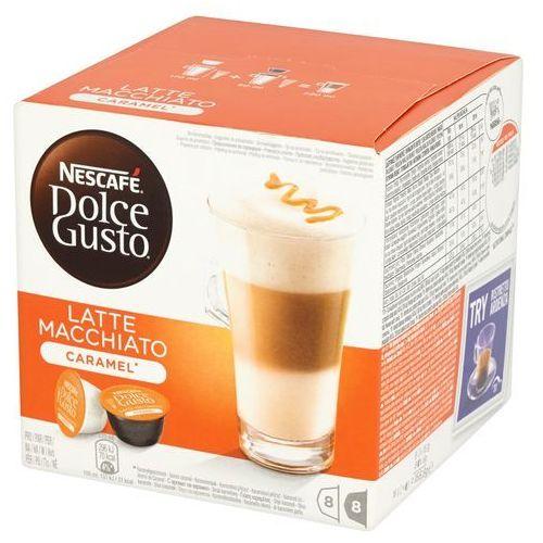 Dolce gusto Kapsuły nescafe latte macchiato caramel + zamów z dostawą w poniedziałek!