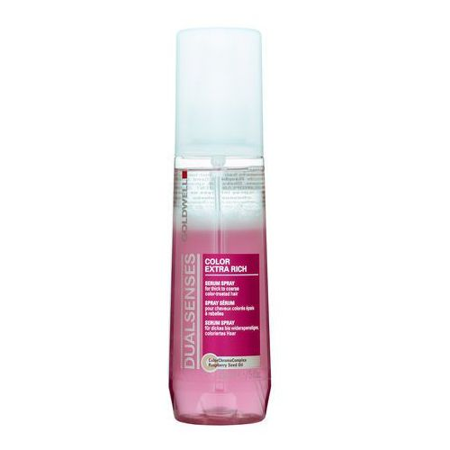 Goldwell dualsenses color extra rich serum do włosów farbowanych (serum spray for thick to coarse hair) 150 ml (4021609055488)