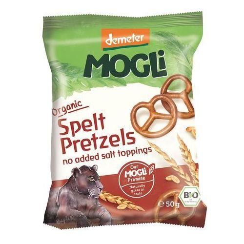 Precelki orkiszowe dla dzieci bio 50 g - mogli marki Mogli (moothie owocowe, batony, napoje)
