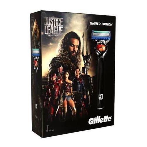 Gillette zestaw Justice League Fusion ProGlide maszynka + 3 głowice, 7702018459582