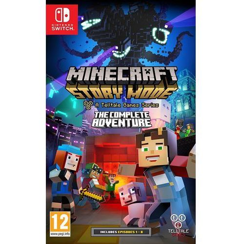 gra Minecraft Story Mode:The Complete Adventure na konsolę Switch (5060146464550)
