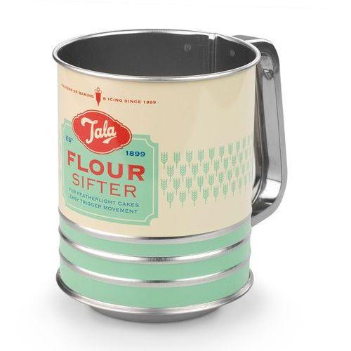 Sitko mechaniczne do mąki z przykrywkami Retro Tala miętowe ODBIERZ RABAT 5% NA PIERWSZE ZAKUPY (5012904002368)