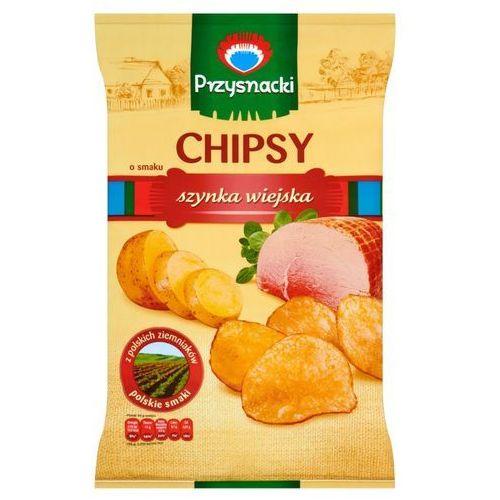 Chipsy przysnacki o smaku szynka wiejska 135 g marki Intersnack poland sp. z o.o.