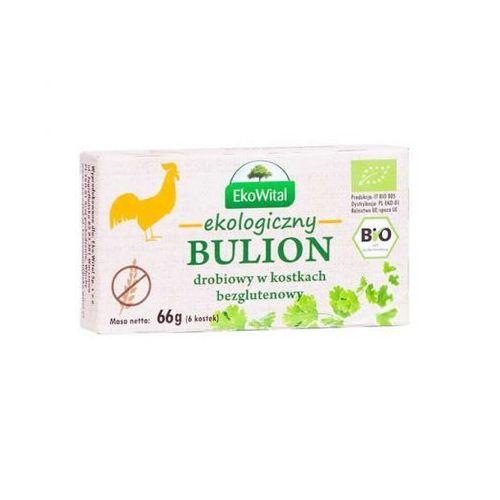 Eko wital Bulion drobiowy w kostkach bezglutenowy bio 66 g (5908249971264)