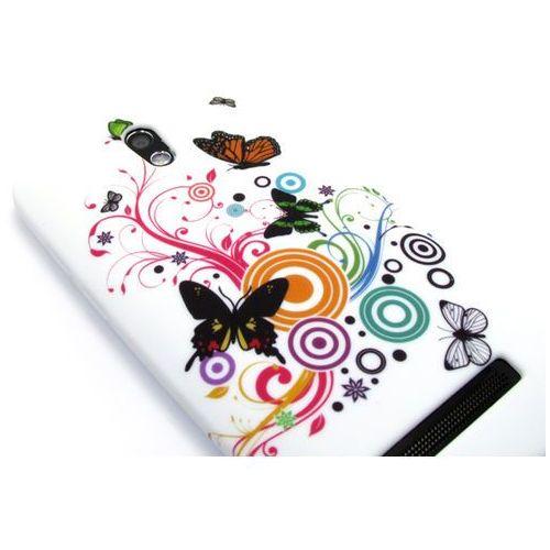 Etuo.pl Floral case - htc desire 500 - etui na telefon - kolorowe kwiaty