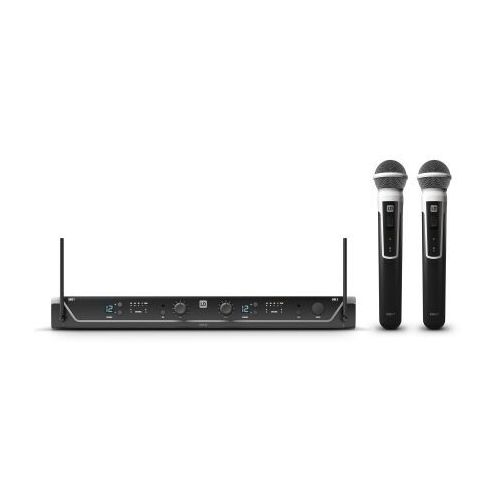 Ld systems u306 hhd2 mikrofon bezprzewodowy podwójny z nadajnikiem doręcznym