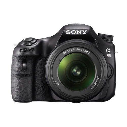 Sony SLT-A58 z kategorii [lustrzanki cyfrowe]