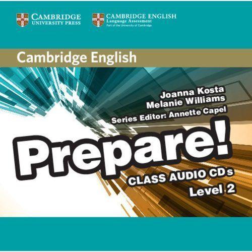 Cambridge English Prepare! 2 Class Audio 2CD