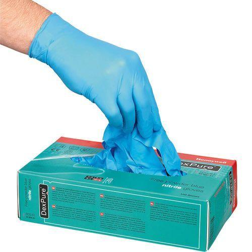 Rękawice jednorazowe nitrylowe niebieskie rozm. XL - 100 szt.