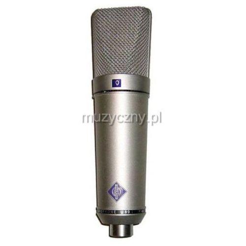 u89 i mikrofon wielkomembranowy, kolor niklowy marki Neumann