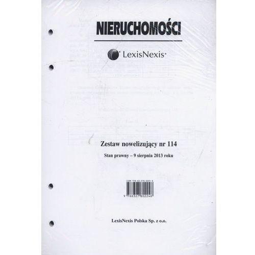 Nieruchomości Zestaw nowelizujący nr 114/2013 - 35% rabatu na drugą książkę! (9788327802248)