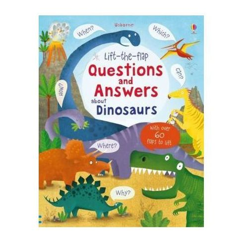 Lift-the-Flap Questions and Answers About Dinosaurs (9781409582144)