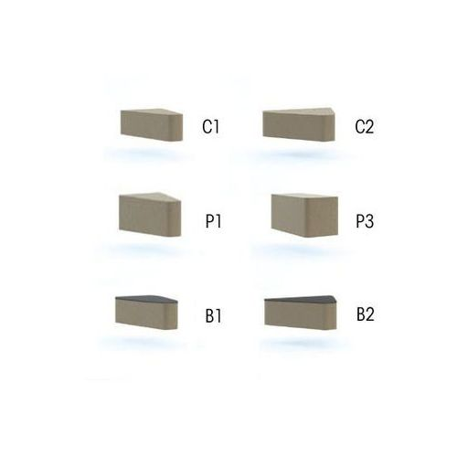 stół WALL IN SYSTEM B1 stolik -łącznik 30 stopni - LW03 -szary - sprawdź w e-krzeslo.pl