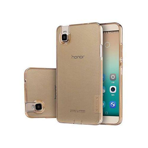 ETUI NILLKIN NATURE SILIKON 0.6MM Huawei Honor 7i / Shot X Brązowy - Brązowy
