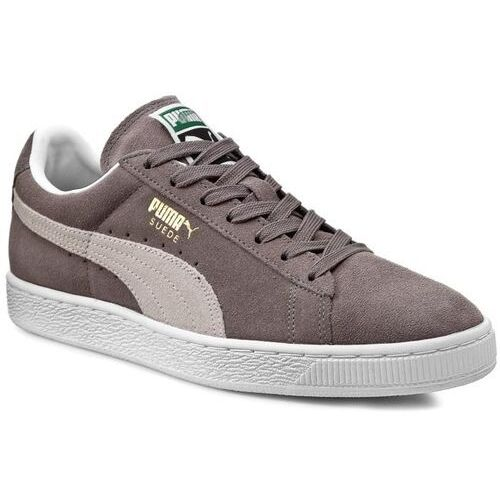 Puma Sneakersy - suede classic + 352634 66 steeple gray/white