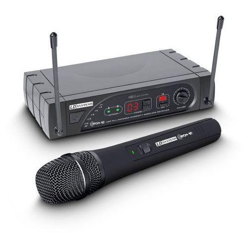 eco 16 hhd b 6 bezprzewodowy system mikrofonowy z ręcznym mikrofonem dynamicznym, 16-kanałowy marki Ld systems