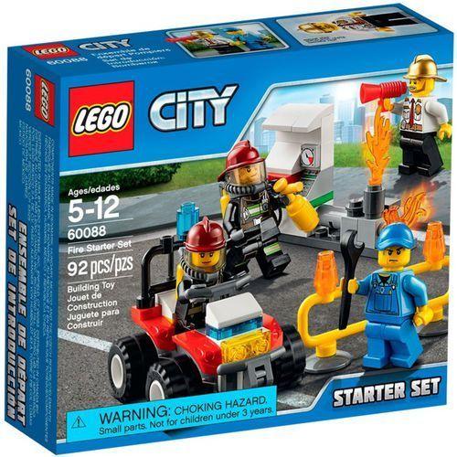 Lego City STRAŻACY- ZESTAW STARTOWY 60088 z kategorii: klocki dla dzieci