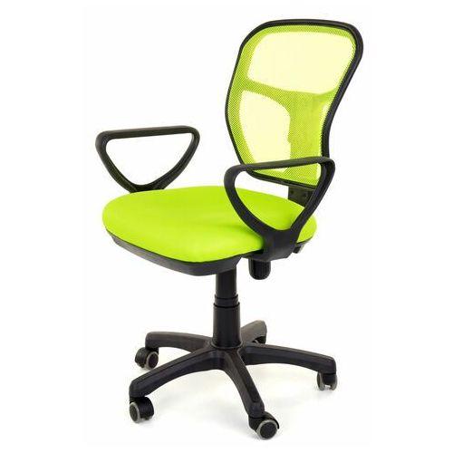 Fotel obrotowy wentylowany - model 8906 - zielony, F.8906.Z