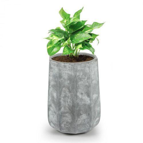 Decaflor Doniczka na rośliny 55x70x55cm włókno szklane do wewnątrz/na zewnątrz jasnoszary