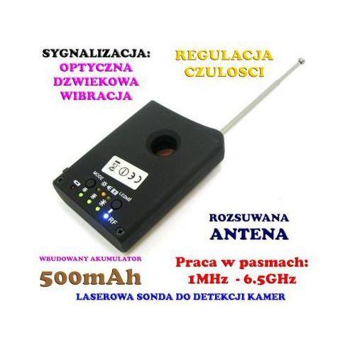 Laserowy Wykrywacz Podsłuchów, Kamer, GSM, Lokalizatorów GPS... + Słuchawki.