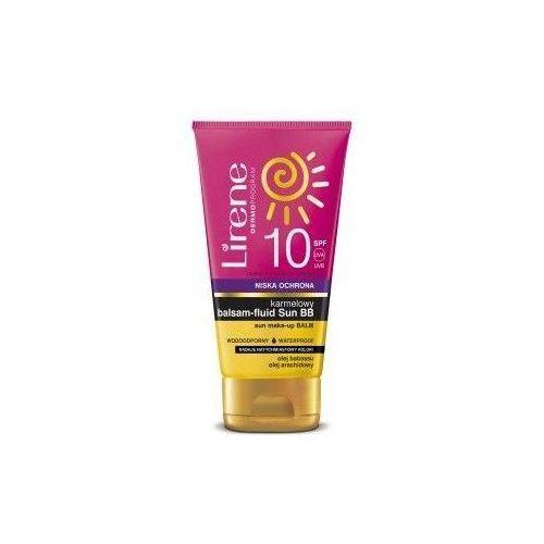 Lirene karmelowy balsam-fluid Sun BB SPF10 150ml