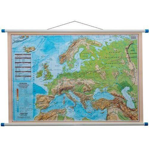 Eko-graf Europa mapa ścienna dwustronna polityczno - fizyczna 1:12 000 000