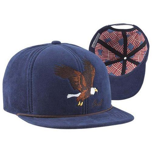 czapka z daszkiem COAL - The Wilderness SP Dark Navy (Eagle) (06) rozmiar: OS, kolor niebieski