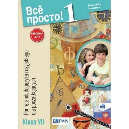 Wsio prosto 1 Podręcznik do języka rosyjskiego Klasa VII