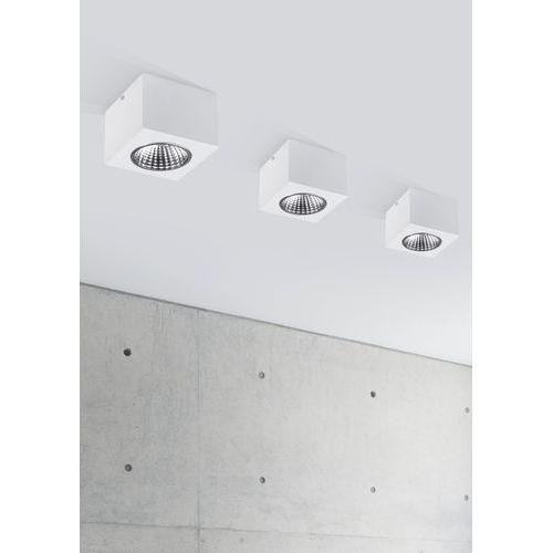 Downlight lampa sufitowa nex 32628 natynkowa oprawa led 5w metalowy plafon kostka cube biały marki Sigma