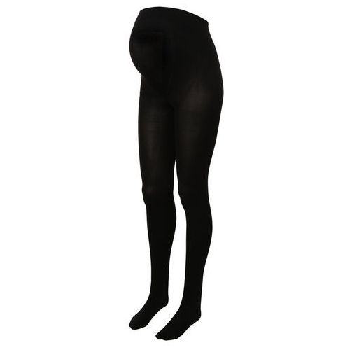 JoJo Maman Bébé ULTIMATE SUPPORT Rajstopy black, materiał poliamid  elastan  bawełna, czarny