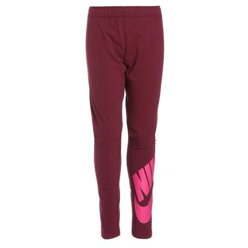 Nike Performance SEE LOGO Legginsy bordeaux/active pink