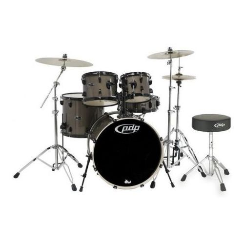 by dw drum set mainstage bronze metallic black hw marki Pdp