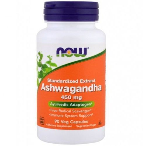 Now foods ashwagandha extract 90 kapsułek