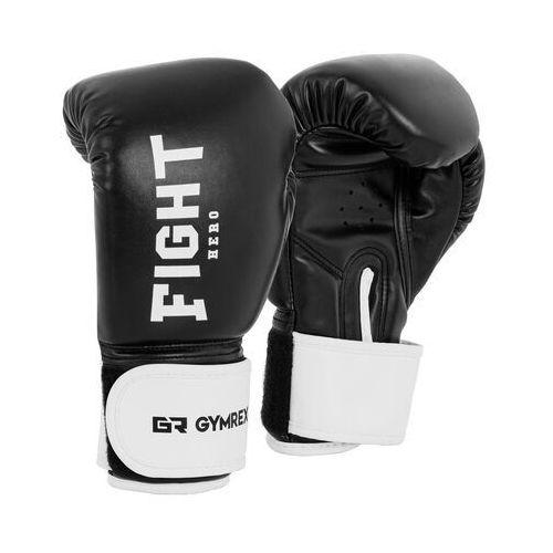 Rękawice bokserskie dla dzieci - czarne - 6 oz marki Gymrex