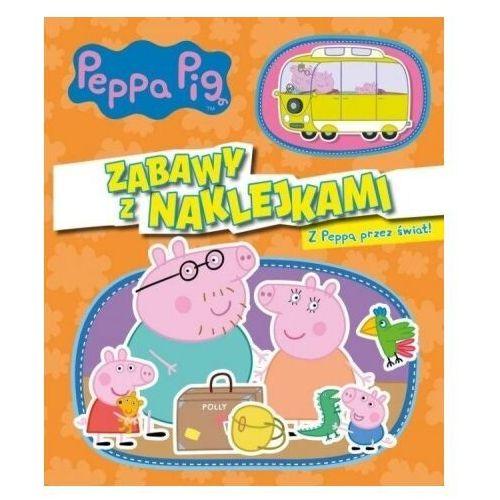Świnka Peppa. Z Peppą przez świat! - praca zbiorowa - książka, praca zbiorowa