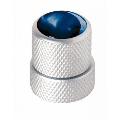 Warwick war-30517-sc-blue-cap st knopf, rund 4-6mm, bl kap sc st knob, round 4-6mm, bl cap sc, gałka potencjometru
