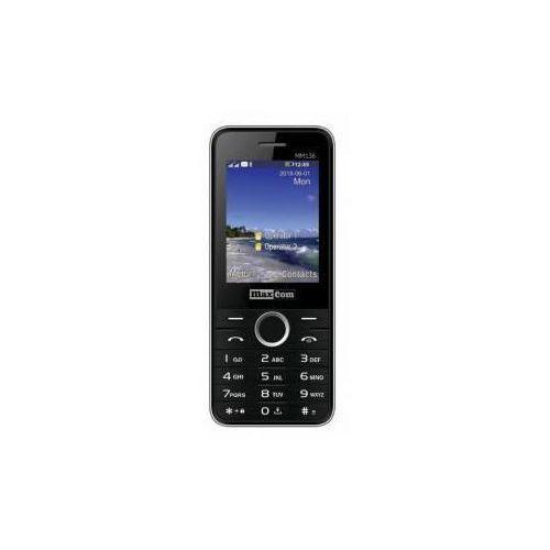 Maxcom Telefon mm136 czarny (5908235973524)
