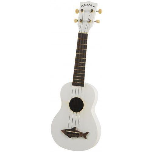 makala shark ss-wht ukulele sopranowe, białe marki Kala