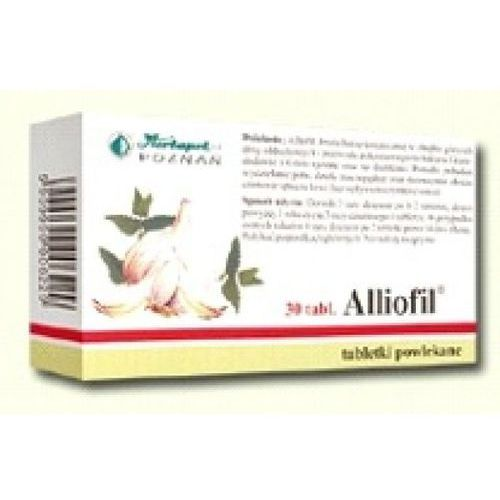 Alliofil 30 tabletki powlekane - produkt farmaceutyczny