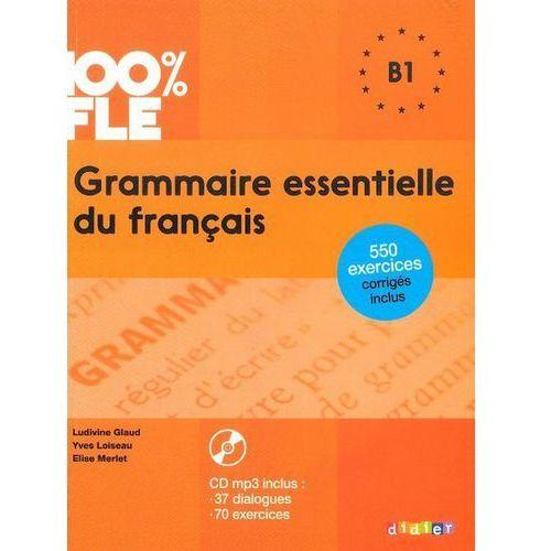 Grammaire essentielle du français B1 Książka + CD audiio, Didier
