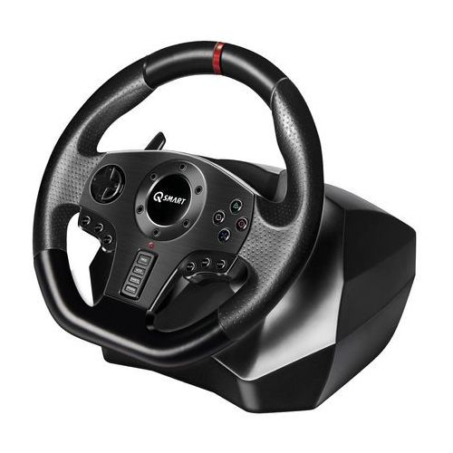 Q-smart Kierownica rally gt900 (pc/ps3/ps4/xbox 360/xbox one/switch) + zamów z dostawą jutro! (5905279174948)