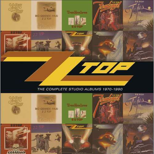 Warner music / rhino Complete studio albums70-90,th - zz top (płyta cd)