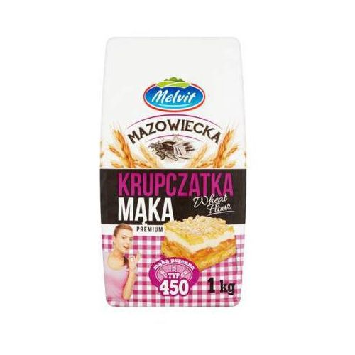 Melvit 1kg mąka krupczatka