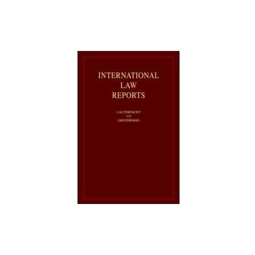 International Law Reports Set 150 Volume Hardback Set (9780521469265)